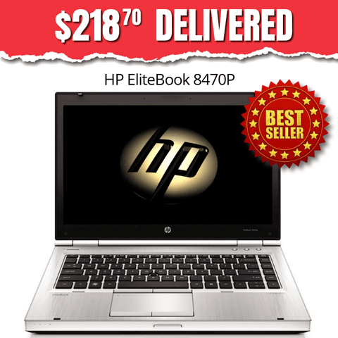 $218.70 Delivered ($424 Without Code: SX98) HP EliteBook 8470P Grade B • Windows 10 Home 64 Bit • Super-Fast Core i5 • 120GB Solid State Drive • 8GB RAM • HD Webcam • DVD • FREE SHIPPING