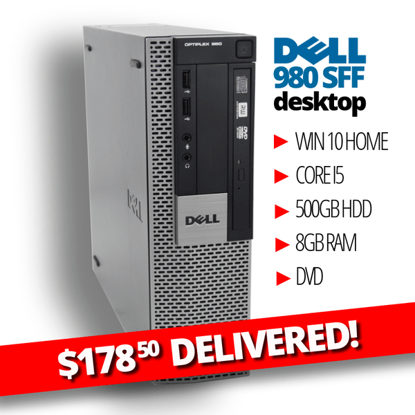 Buy $178 50 DELIVERED BLOWOUT • Dell Optiplex 980 SFF