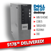 $178.50 DELIVERED BLOWOUT • Dell Optiplex 980 SFF Desktop • Core i5 • 500GB HDD • 8GB RAM • Windows 10 Home 64 Bit • DVD • FREE SHIPPING