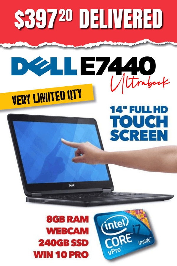Buy Dell Latitude E7440 Touch Screen Laptop • 14
