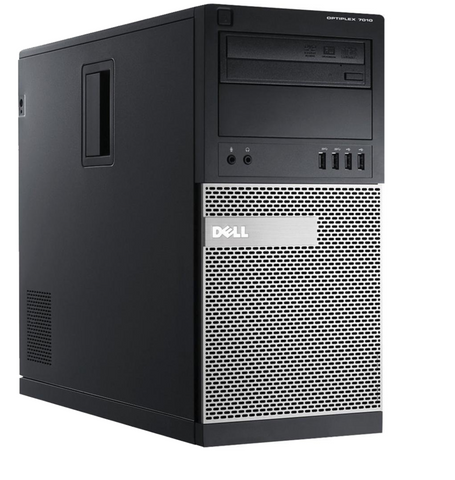 Dell Optiplex 7010 Desktop • Intel Core i5 • Tower • 8GB RAM • 500GB DVDRW • Windows 10 PRO 64 Bit