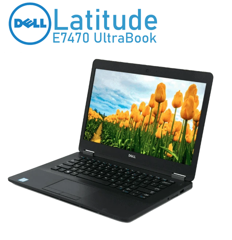 "Dell Latitude E7470 UltraBook | 14"" HD Display 