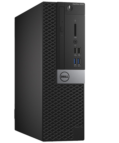 Dell Optiplex 5050 SFF Desktop • Intel Core i5-6500 3.4GHz • 8GB RAM DDR3 • 500GB SATA • Windows 10 PRO 64 BIT