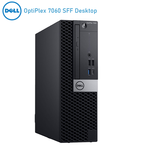 Dell Optiplex 7060 SFF Desktop • Core i7- 8700 3.20GHz • 8th Generation• 16GB RAM • 512GB SSD • Windows 10 PRO 64 BIT