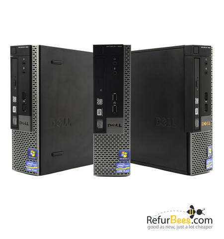 Dell OptiPlex 990 USFF • Core i5 2.5Ghz • 8G RAM • 128GB SSD Drive • Windows 10 PRO 64 Bit