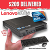 Lenovo ThinkCentre M73 TINY Desktop • Intel Core i5 • 128GB SSD • 8GB RAM • Win 10 Pro 64 Bit • FREE SHIPPING • ONLY $209 DELIVERED • WORK FROM ANYWHERE with this TINY MARVEL!
