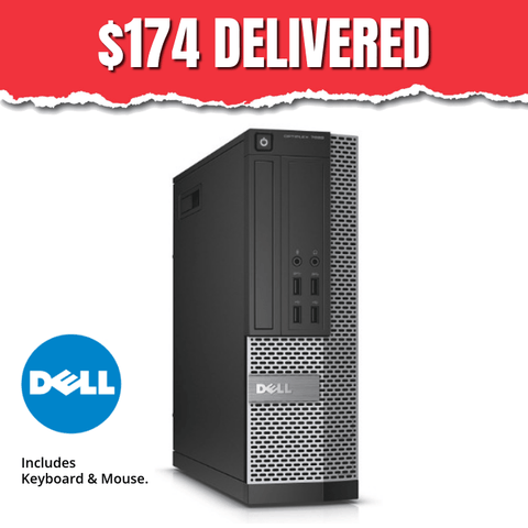 $174 ($269 without code DS7X) Dell Optiplex 790 SFF • Intel Core i3 • Win 10 Home 64 Bit • 250GB • 4GB • DVD • Use Code: DS7X