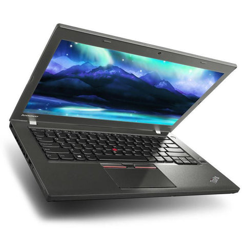 $497 ($608 without code: LT18) Lenovo ThinkPad T450 Ultrabook • Intel Core i5 • 256GB Solid State Hard Drive • 8GB RAM • Windows 10 PRO 64 Bit • Webcam •  FREE SHIPPING • Use Code: LT18 • $497 Delivered