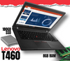 "Lenovo ThinkPad T460 UltraBook • 14"" HD LED Backlit Widescreen • Core i5 • Win 10 Pro 64 Bit • 180GB SSD • 8GB RAM • Integrated Webcam • Grade B • FREE SHIPPING"