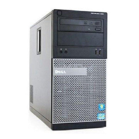 Dell Desktops Dell Optiplex 390 Tower • Dual Core • 2.7GHz • 160GB • 4GB • DVD • Use Code: TEN