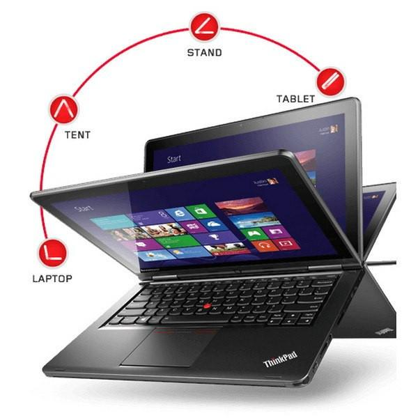 Lenovo/IBM Laptops $359 ($499 without code LYS1) Lenovo ThinkPad Yoga S1 Convertible Ultrabook • Multi-Touch Screen • 4th Gen Core i5 • Windows 10 Home 64 Bit • 128GB SSD • 8GB RAM • FREE SHIPPING • Use Code: LYS1
