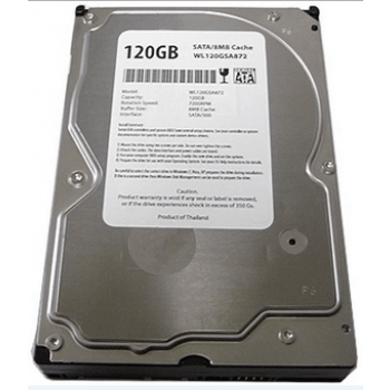 Major Brand Hard Drives Major Brand 120GB Hard Drive 3.5'' Sata