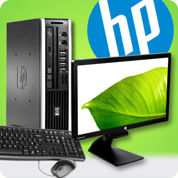 Incredible Hp Bundle Hp 8200 Elite Usff Desktop 23 Hd Name Brand