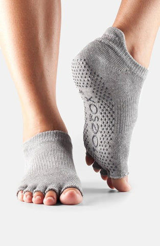 ToeSox Women's Half Toe Low Rise Socks