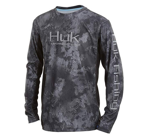 HUK Youth Icon X Camo Long Sleeve Shirt SubPhantis