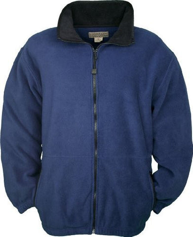 Colorado Timberline Men's Telluride Fleece Jacket-L (Navy)