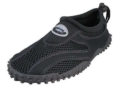 Kids Wave Water Shoes, Black - 3
