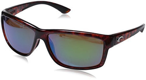 Costa Del Mar Mag Bay Sunglasses, Tortoise, Green Mirror 580P Lens