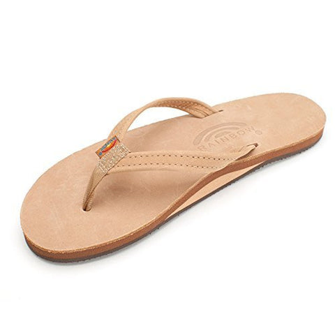 Rainbow Sandals Women's Single Layer Premier Sierra Brown Sandal Ladies Small (5.5-6.5 Women US)