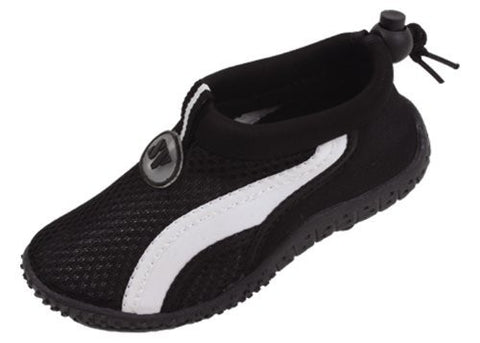 Starbay Toddler Athletic Water Shoe,5 M US Toddler,Black