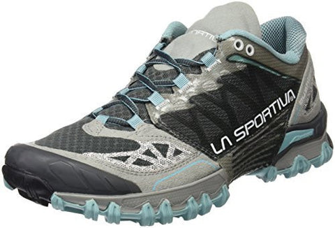 La Sportiva Bushido Women's Trail Running Shoe, Ice Blue / Grey, 39