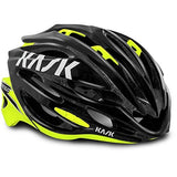 Kask Vertigo 2.0 Helmet, Black/Yellow, 48-58 cm