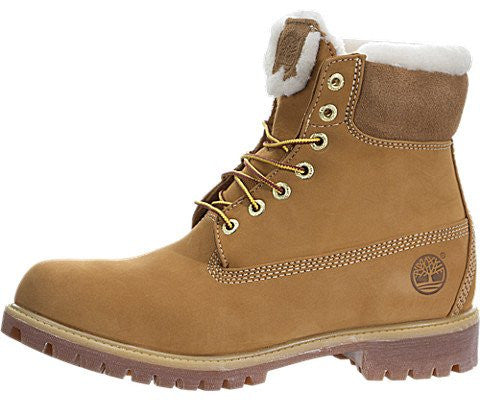 Timberland Men's Fur Lined Round Toe Leather Winter Boot
