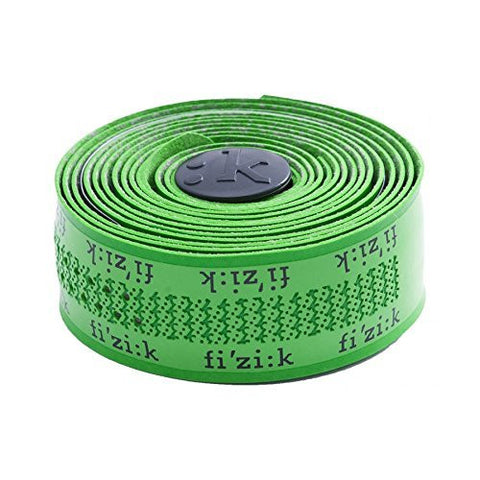 Fizik Superlight Tacky Bar Tape with Logo, 2mm, Green