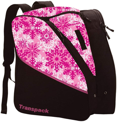 Transpack Edge Jr. Boot Bag Pink Snowflake