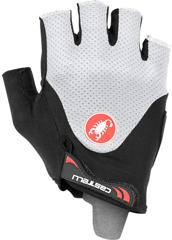 Castelli Arenberg Gel 2 Bike Gloves Black Ivory