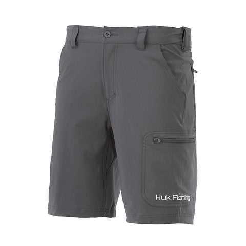 "HUK Men's NXTLVL 10.5"" Short, Charcoal"
