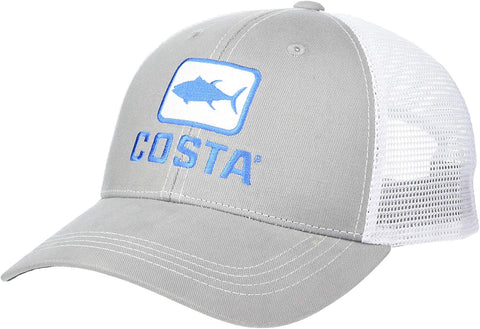 Costa Del Mar Tuna Trucker Hat Gray