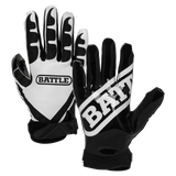 Battle Ultra-Stick Adult Football Receiver Gloves