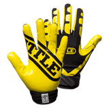Battle Ultra-Stick Youth Football Receiver Glove