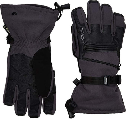 Gordini Men's GTX Storm Trooper II Glove Gunmetal Black