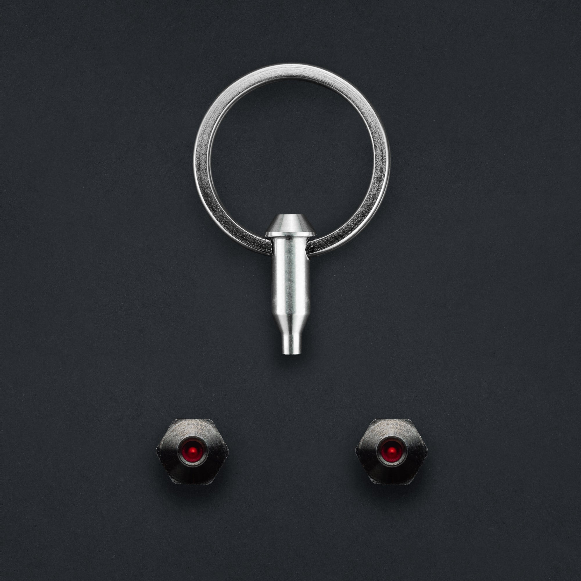 Hexlox Saddle Lock Security Set - Black Collection