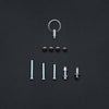 ***Black*** Saddle & Seat Post Gift Pack