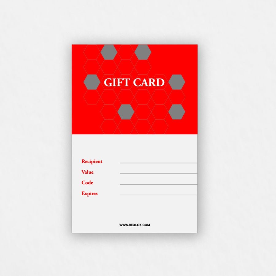 Hexlox eGift Card
