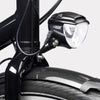 Bike Light Secured with Hexlox Anti-Theft System