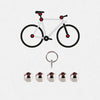 Hexlox Total Bike Security Set with Bike