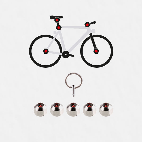 Hexlox Total Bike Security set