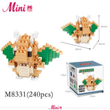 Gaming Pocket Monster Mini Figure Building Blocks
