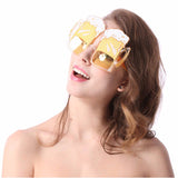 Beer Goggles Glasses For Bachelor Guys Bachelorette Girls Party