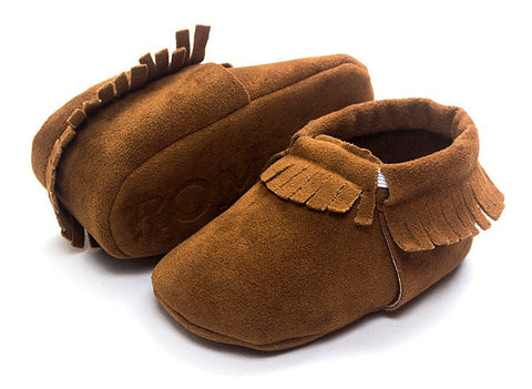 Baby Moccasin Real Leather Fits (0 to 12 month)