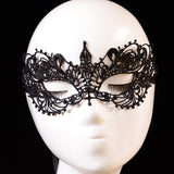 Black Lace Masquerade mask bachelorette girls party