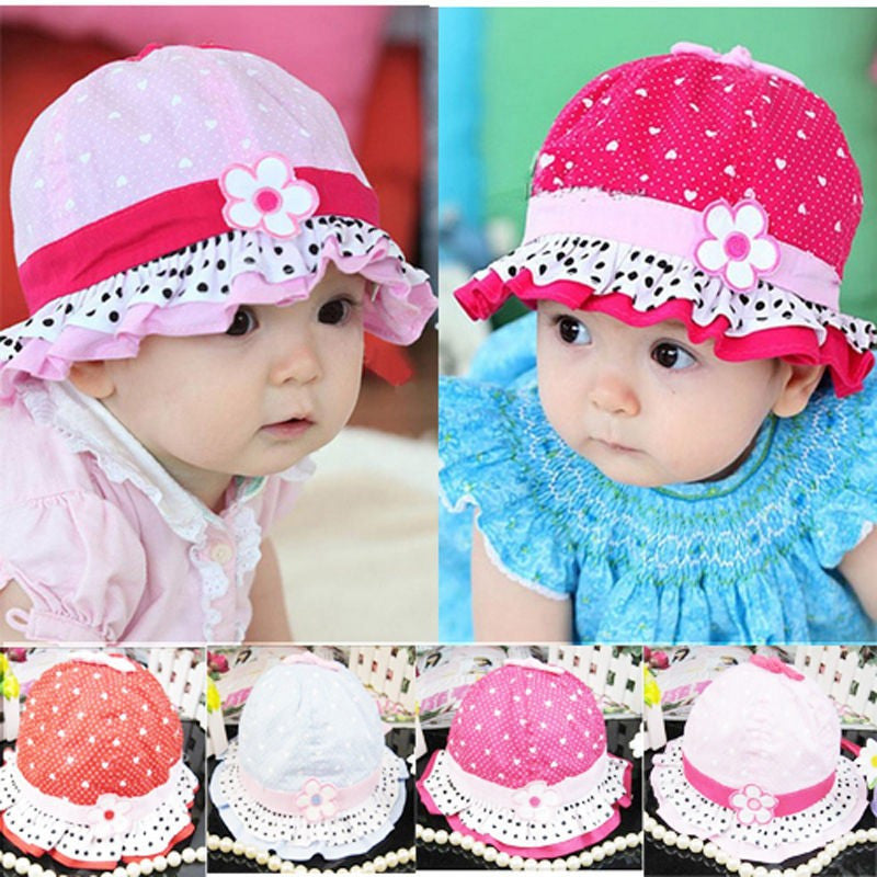 Sunflower Hat Cap Baby (0 to 12 months)