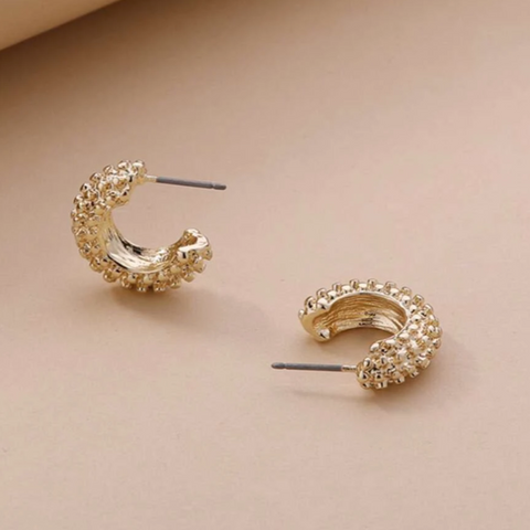 Odette Petite Hoop Earrings
