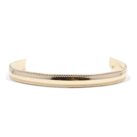 14k Parisian Textured Cuff