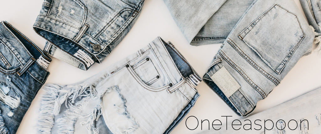 Women's fashion style denim jeans by OneTeaspoon Australia shorts skirts