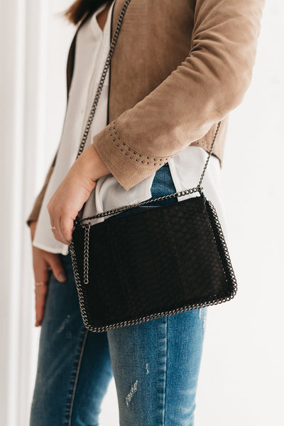 Ipanema Chain Bag Black
